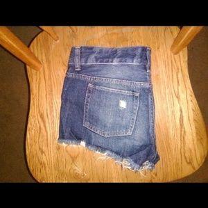 PINK Victoria's Secret Shorts - Victoria's secret Pink sequin denim shorts